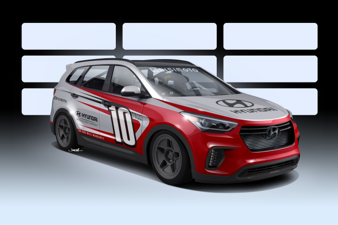 "HYUNDAI JOINS FORCES WITH BISIMOTO TO DEVELOP ""SANTA-FAST"" 1"