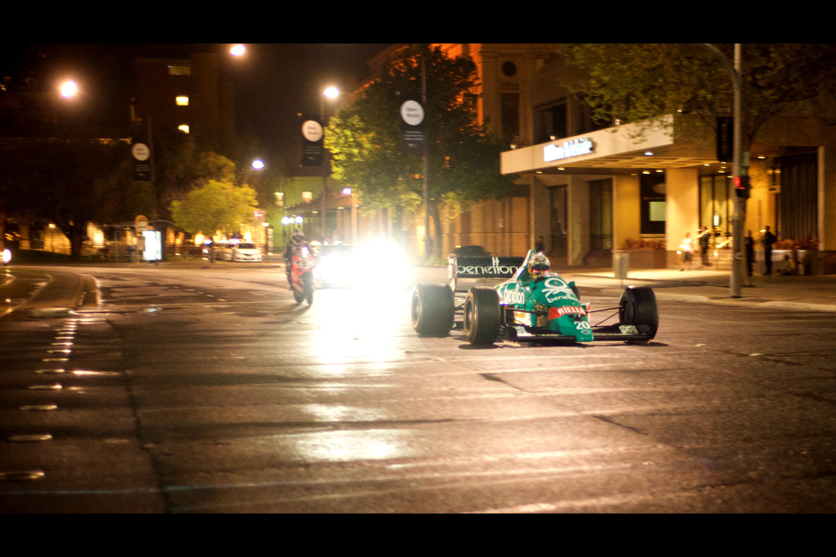 Race To The City: F1 Cars On Adelaide's Streets