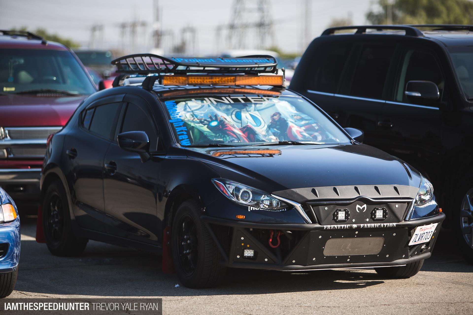 Find This Battlewagon Mazda3