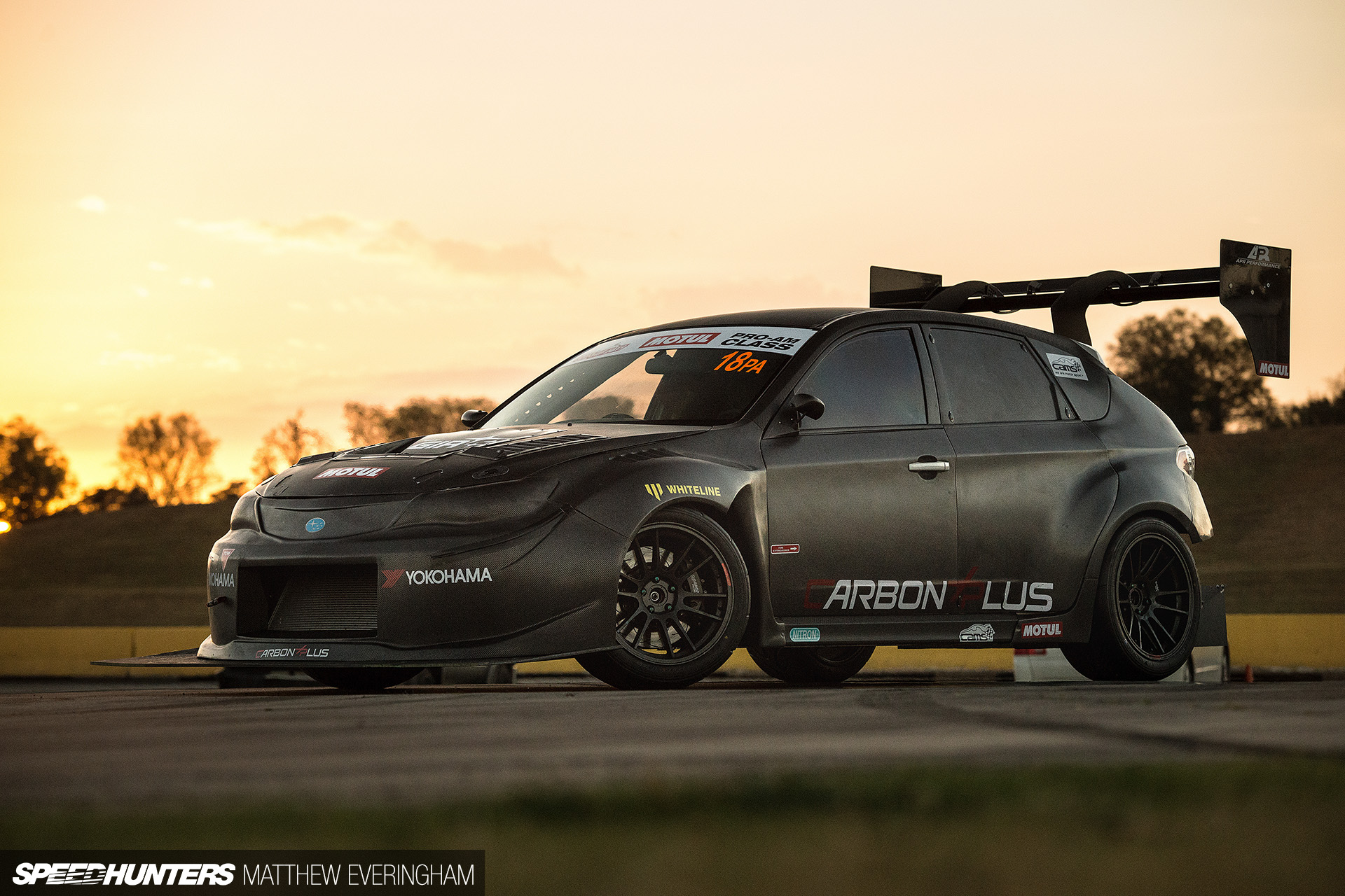 Roger Clark Subaru >> Carbon Everything: A Time Attack WRX - Speedhunters