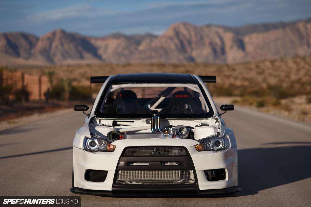Bought, Then Built: CSF's Next Level Evo X