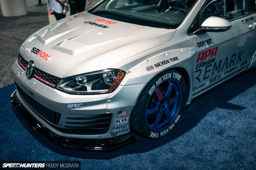 2017 SEMA Greddy Volkswagen GTI Pandem Speedhunters by Paddy McGrath-11