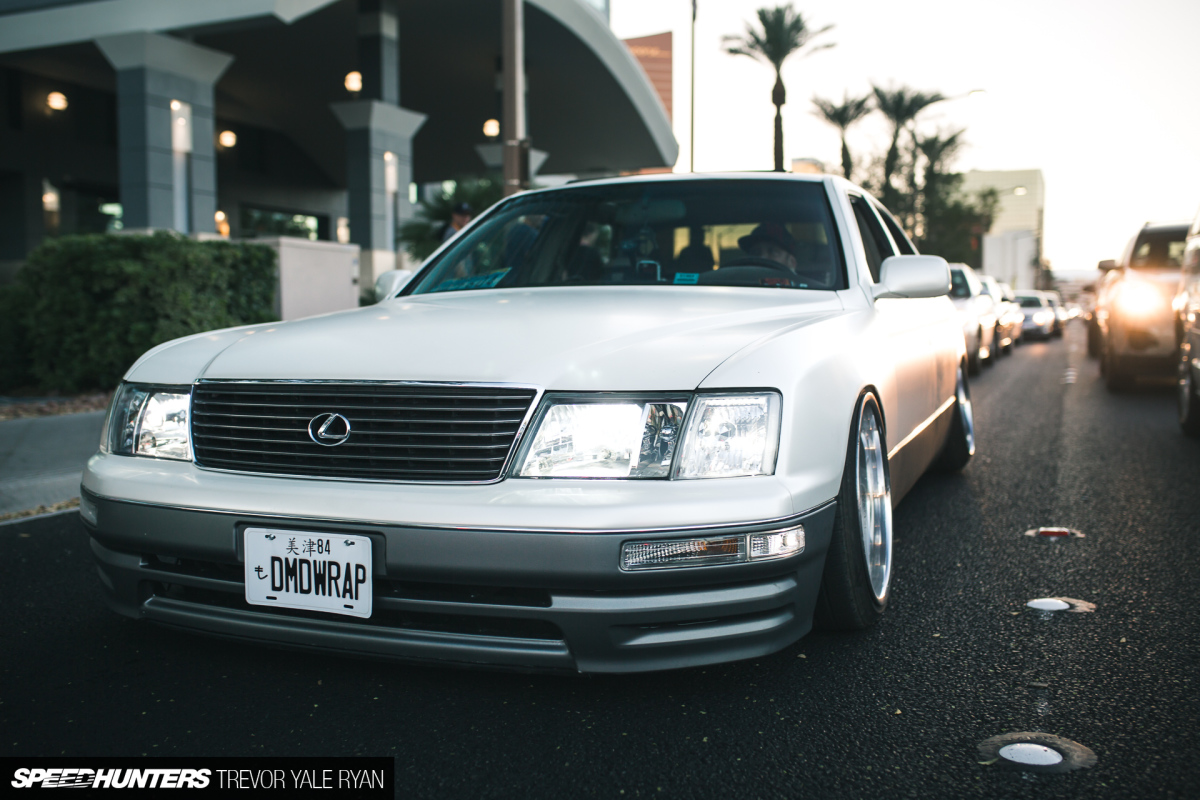 Back To Reality: A Las Vegas Lexus LS400
