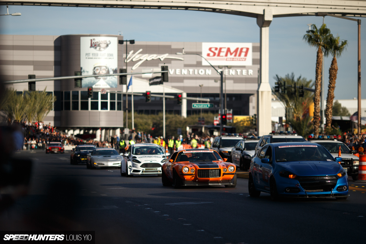 The SEMA Show Roll-Out