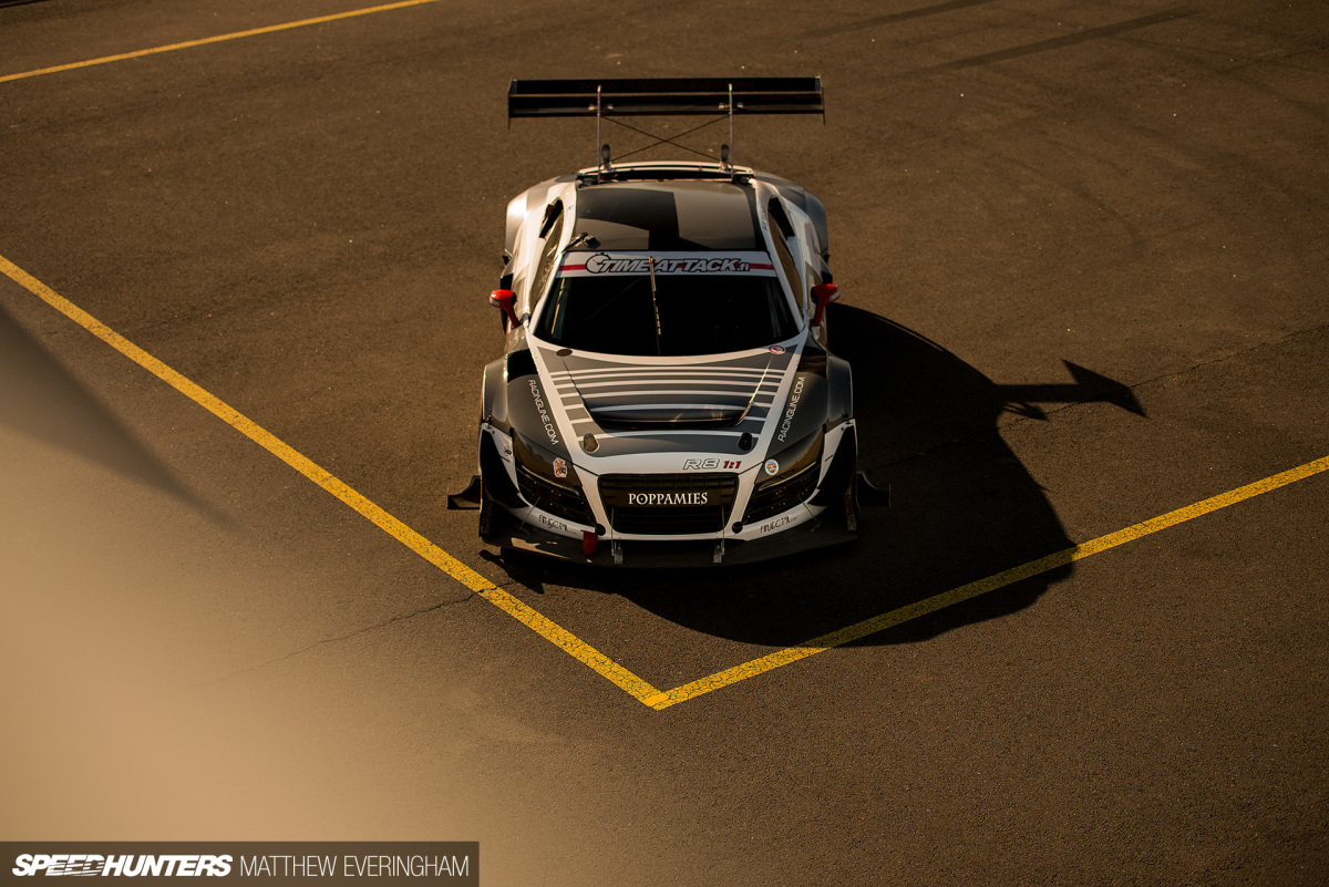 A Different Approach To Time Attack: The R8 1:1