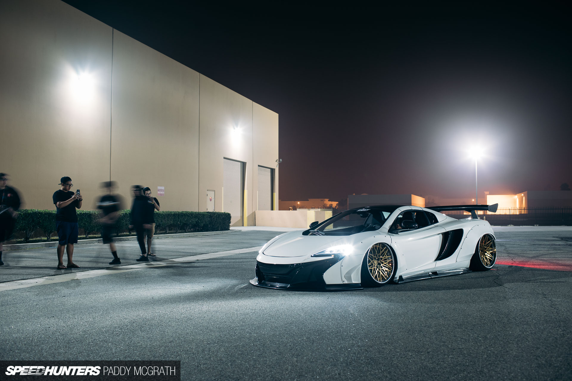 A McLaren MP4 & The Overfender Paradox