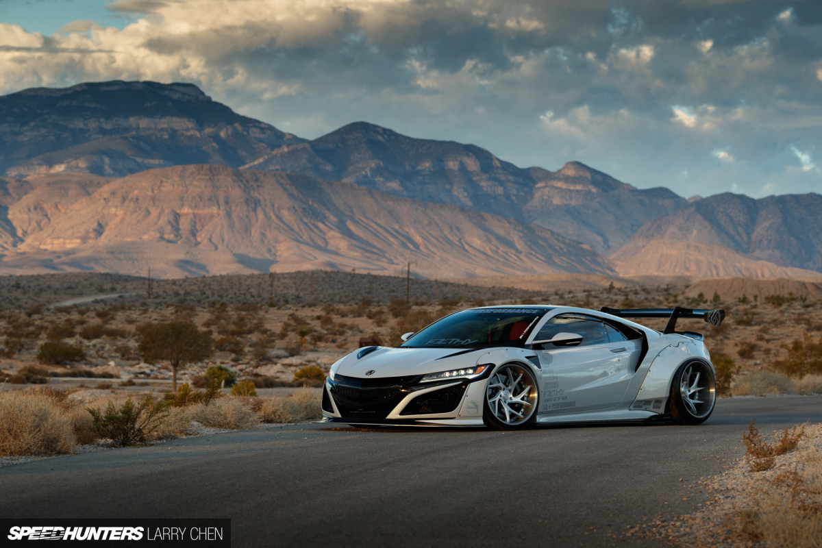 Breaking Necks In A Wide-Body NSX