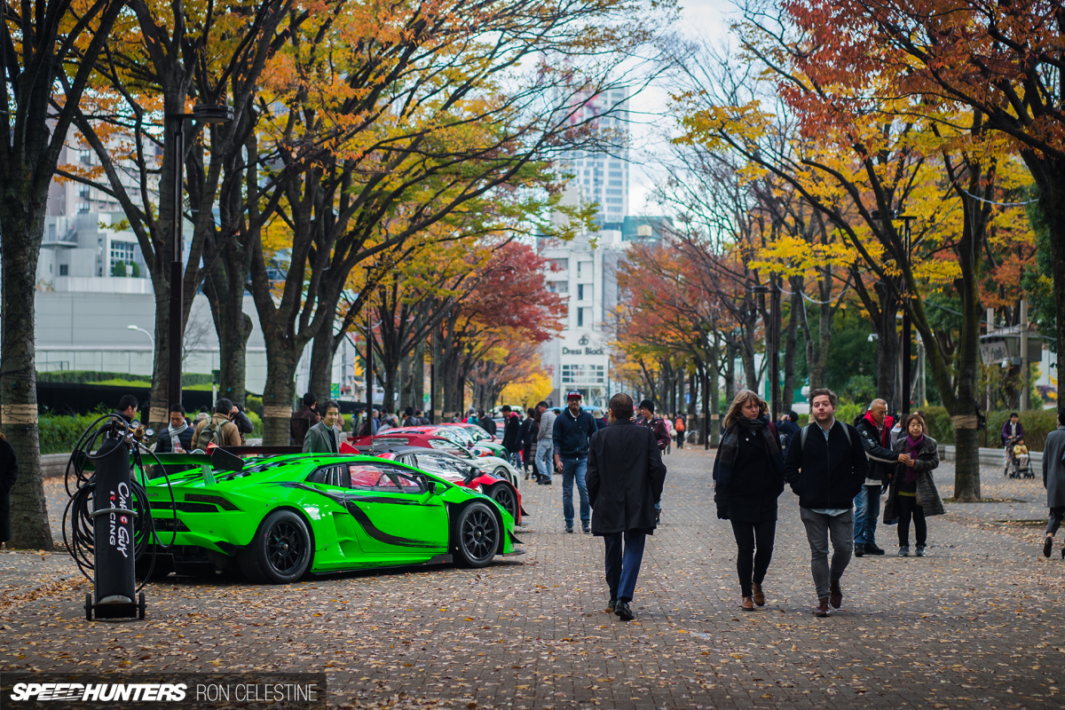 Supercar Lust At Shibuya Sports Car Fest