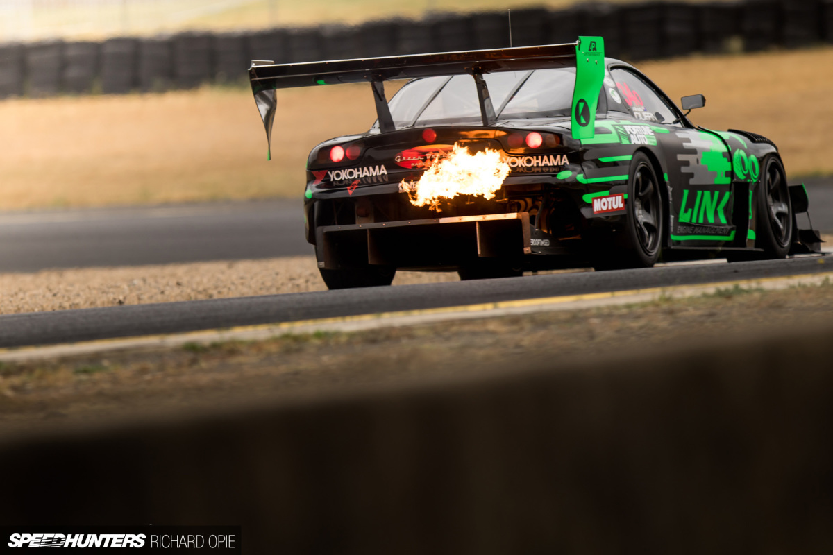 Crowd Pleasing 101: 3 Rotor Racing's RX-7