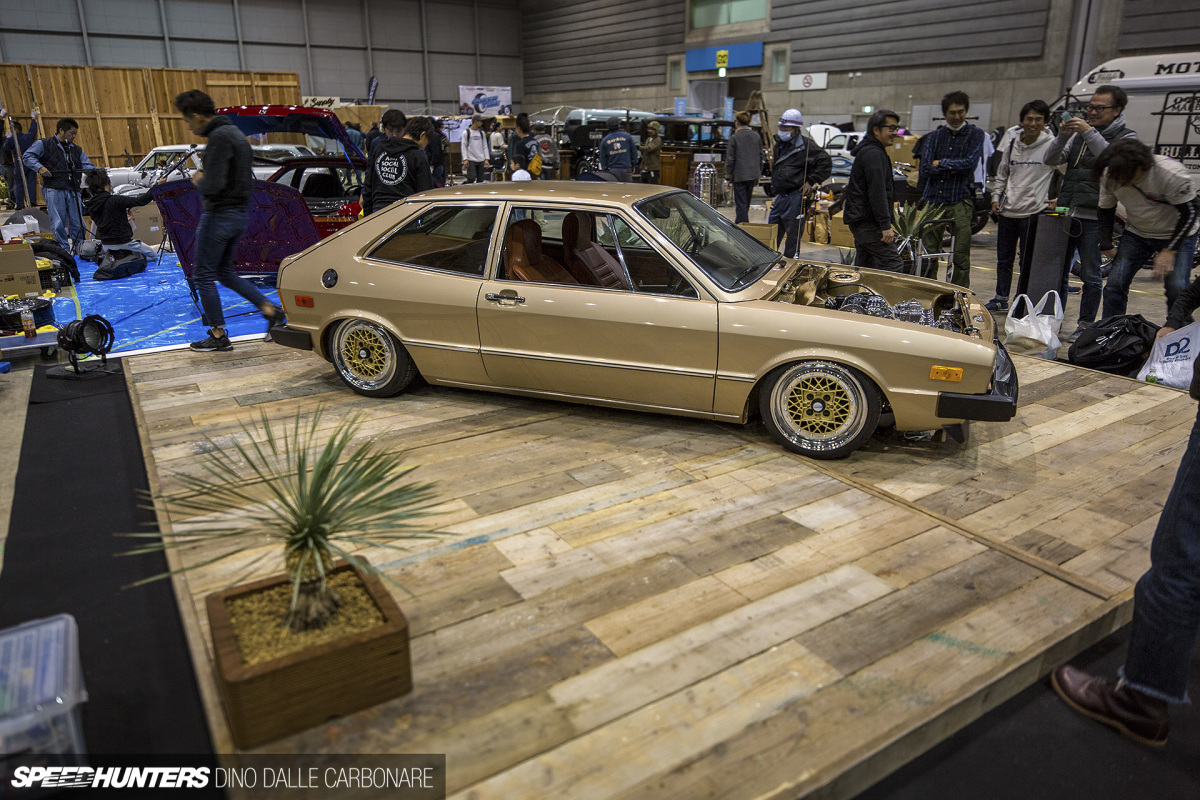 Striking Gold At Yokohama Hot Rod Custom Show