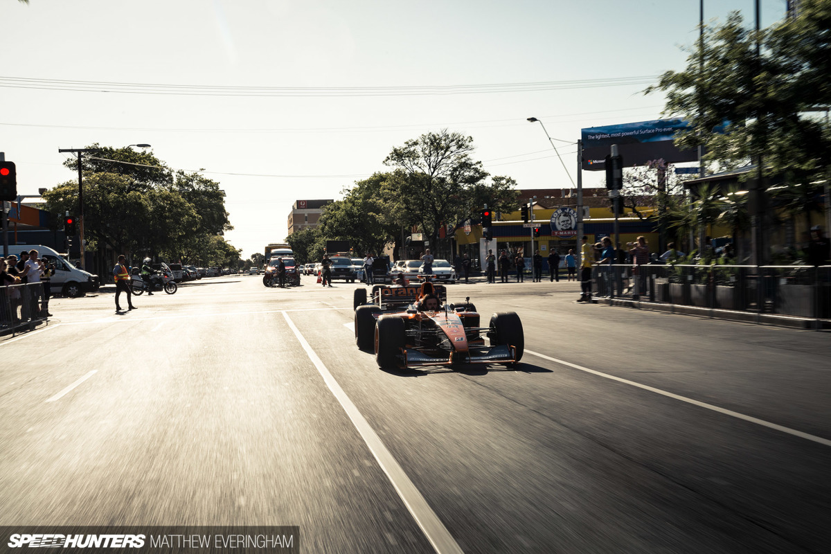 Bringing The Noise To The Streets Of Adelaide