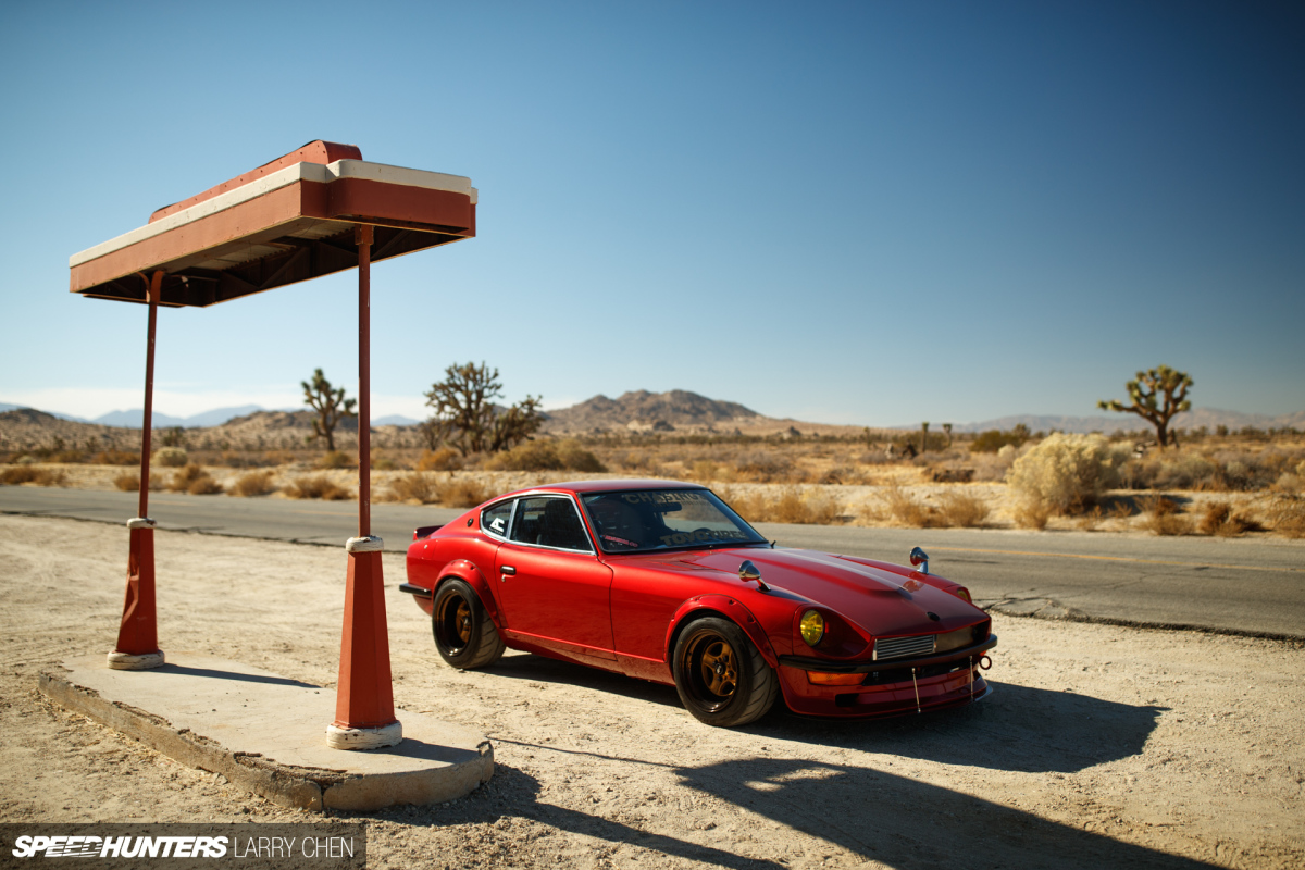 Home Grown: The Chasing Js240Z