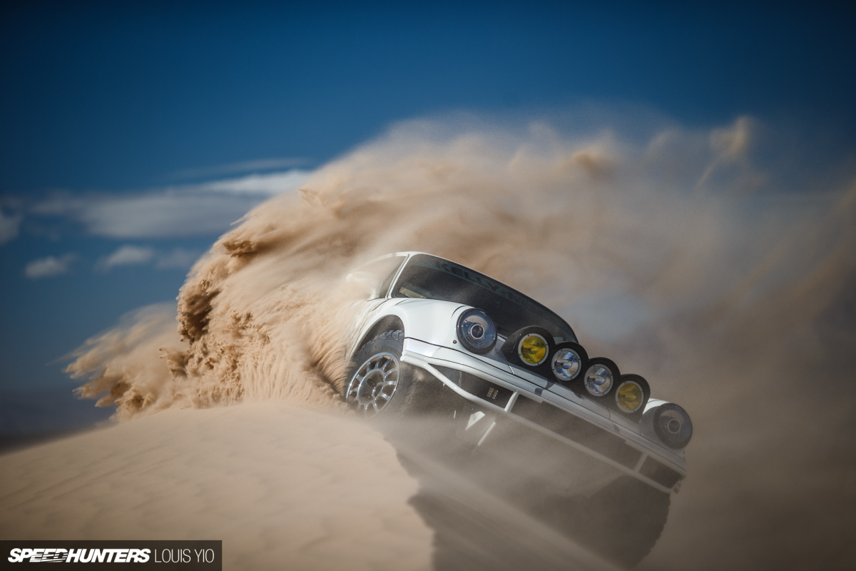 Sand Surfing, 911 Style