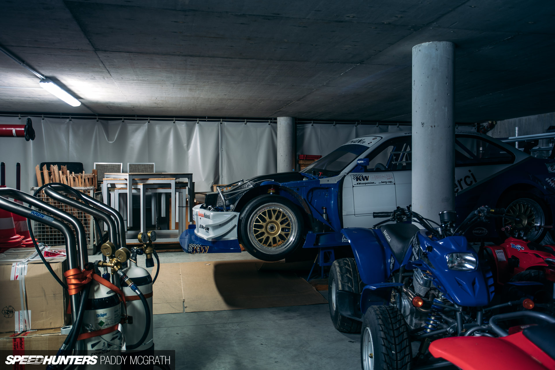 what 39 s behind the curtain at kw speedhunters. Black Bedroom Furniture Sets. Home Design Ideas