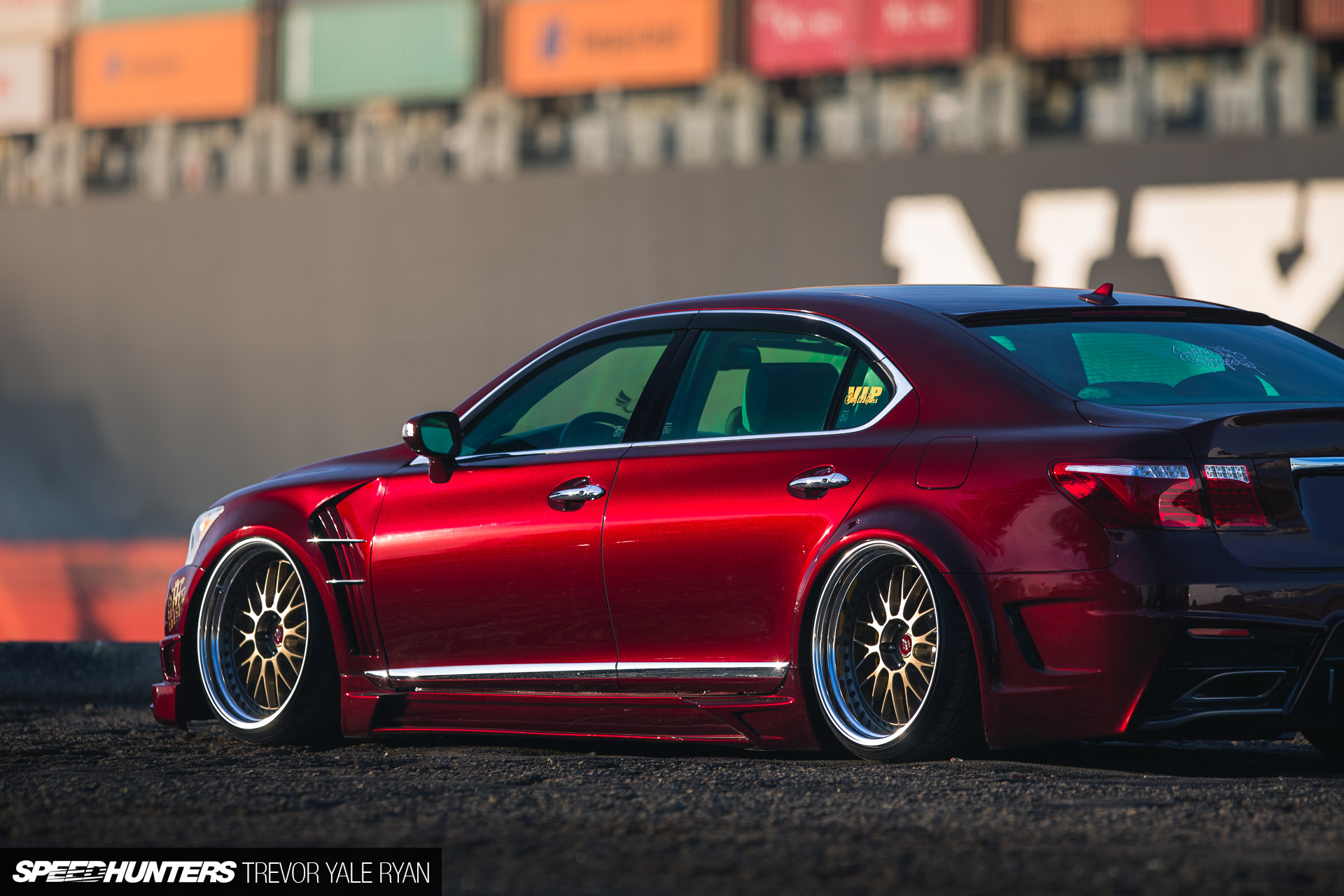 Do It For The Kids A Vip Style Ls460 Speedhunters