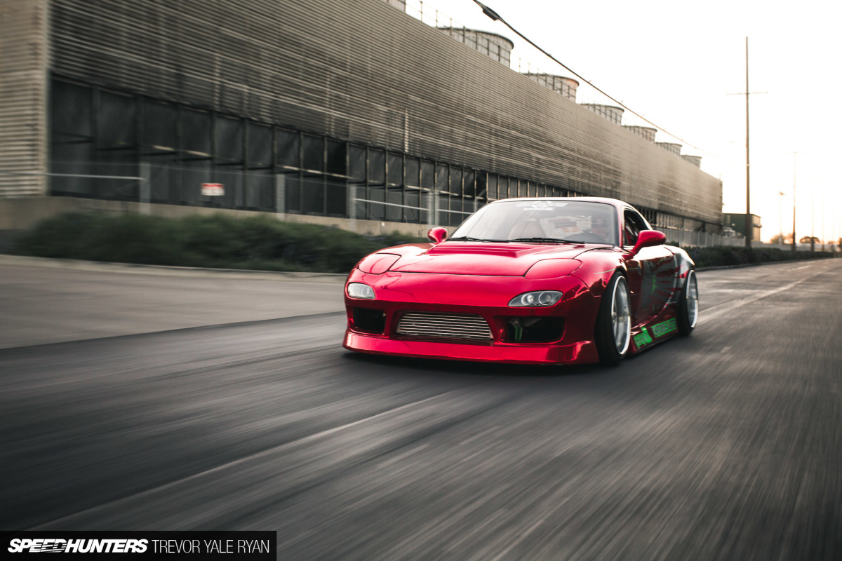 Damn That Guy's Fast: Angry Earl's FD3S RX-7