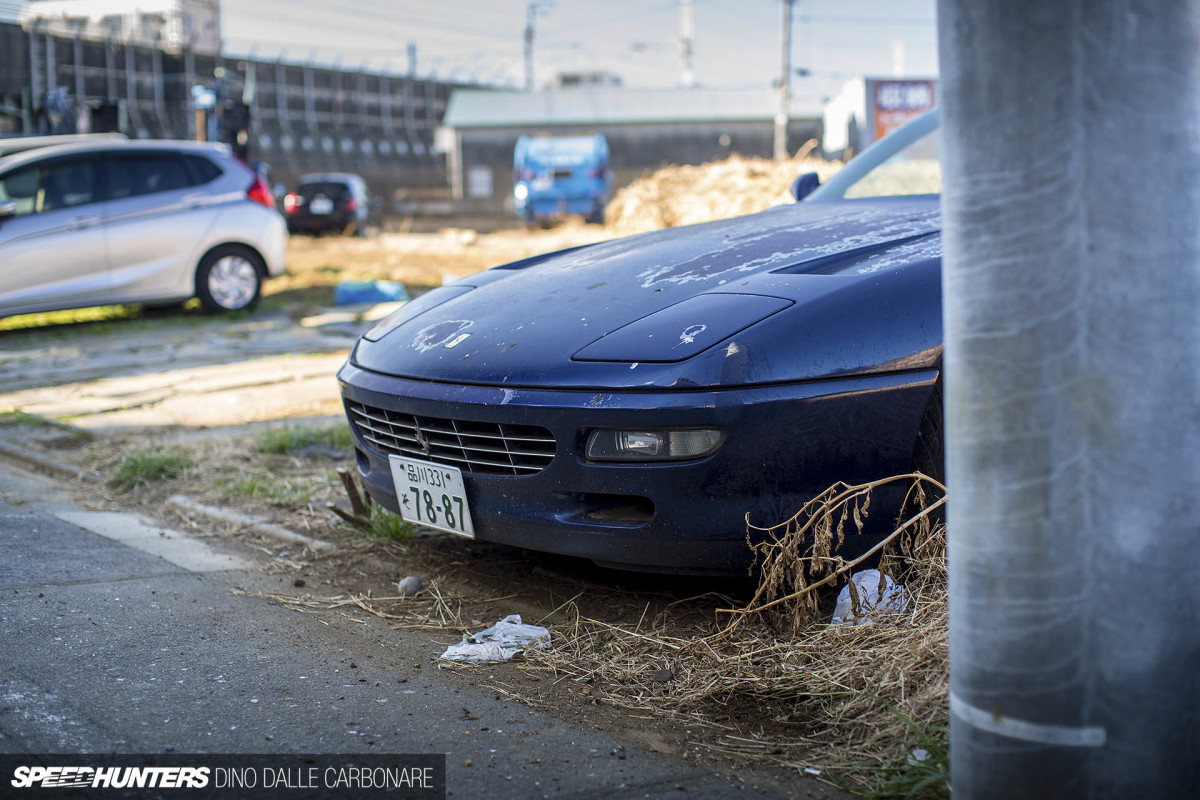 The Abandoned Ferrari InTokyo