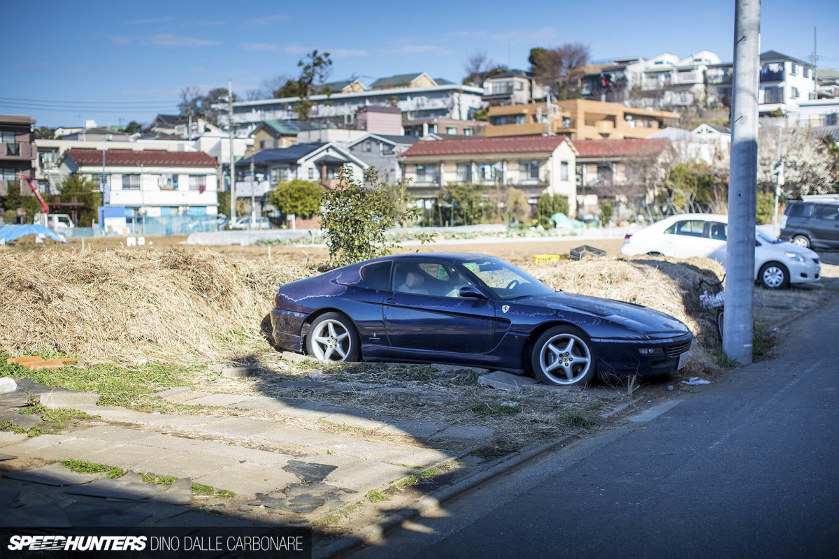 Cheap Brake Jobs >> The Abandoned Ferrari In Tokyo - Speedhunters