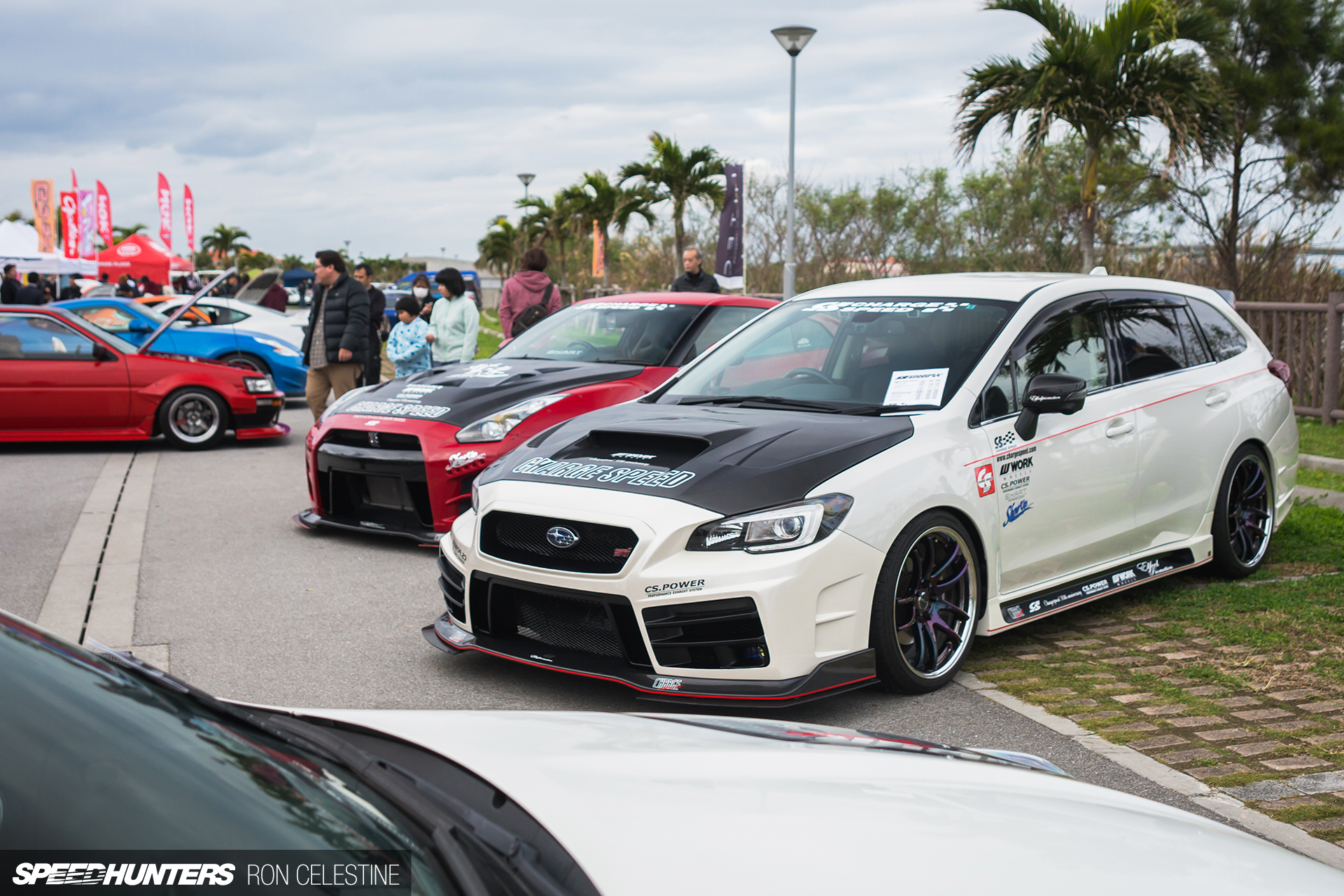 Enjoying Sunshine At Okinawa's Custom CarShow