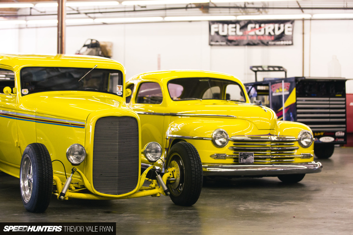 American Muscle Car Mania At Goodguys HQ