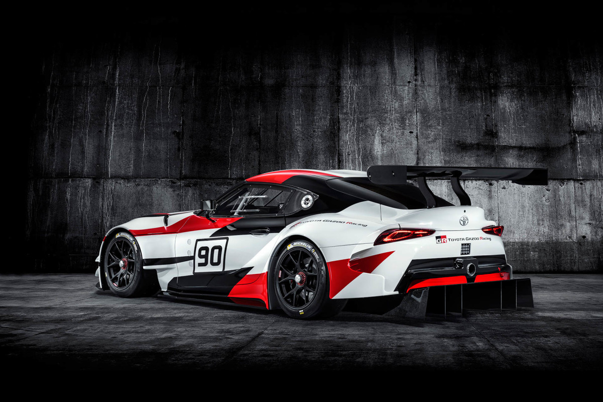 Gazoo Racing The New Supra Speedhunters Toyota Developing Worldfirst Vehicle Wiring Harnesses Recycling Theres No Hiding Fact That Has Penned A Very Recognisable Shape Silhouette In Some Areas Even Throws Few Visual Jza80 Cues Into