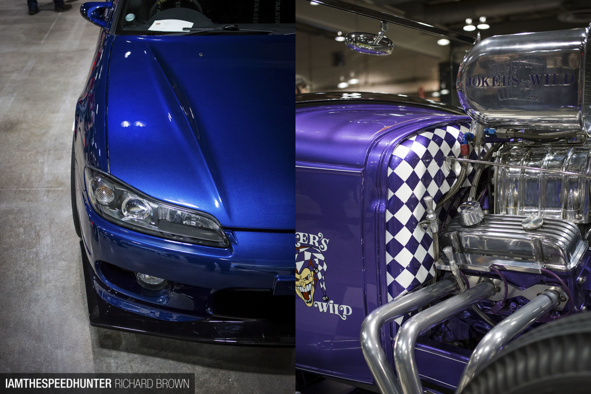 When Worlds Meet: S15 Silvia Versus '31 Ford
