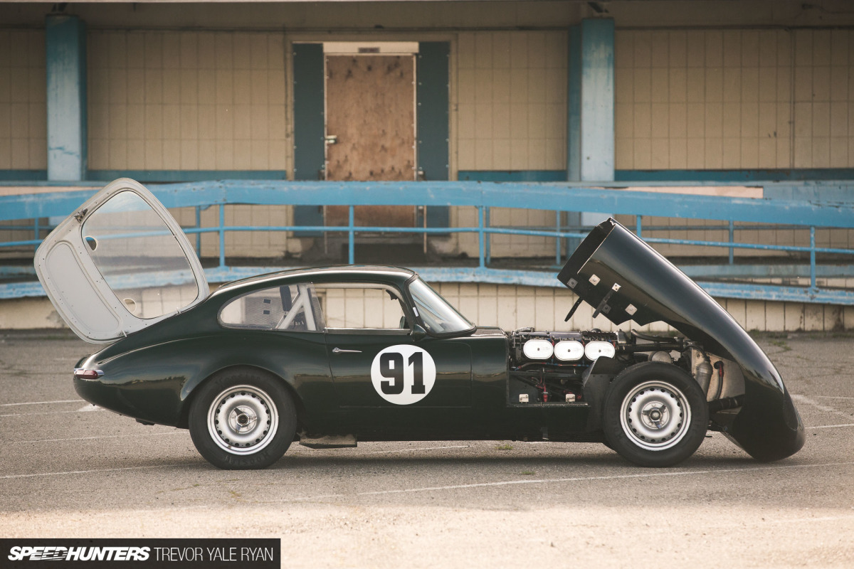 Shaken, Not Stirred: A '61 E-Type Race Car