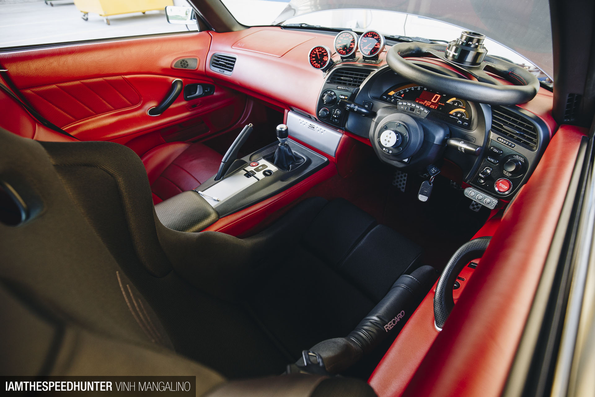 The wingless s2000 warrior speedhunters news broadcast for Honda in network