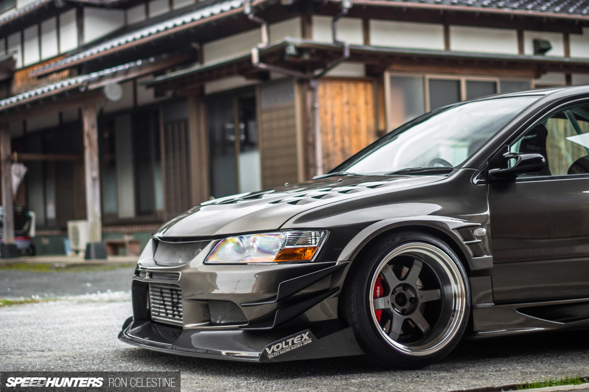 A Movie Inspired JDM Evo