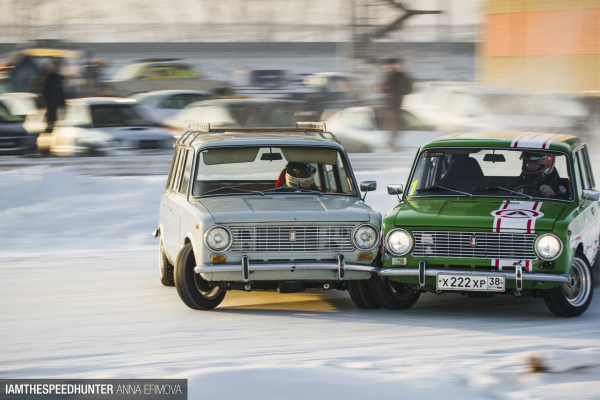 In Russia, Lada Drifts You
