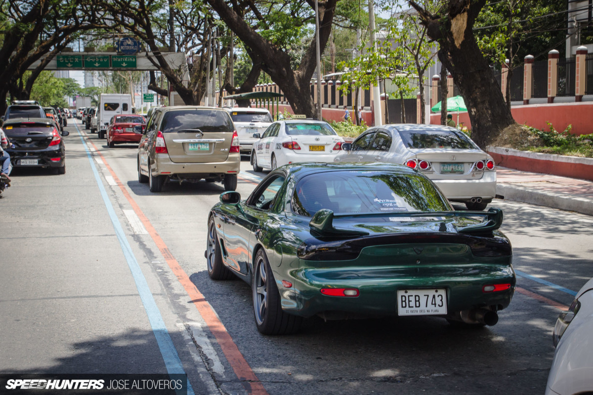 An RX-7 Built For The Streets Of Manila
