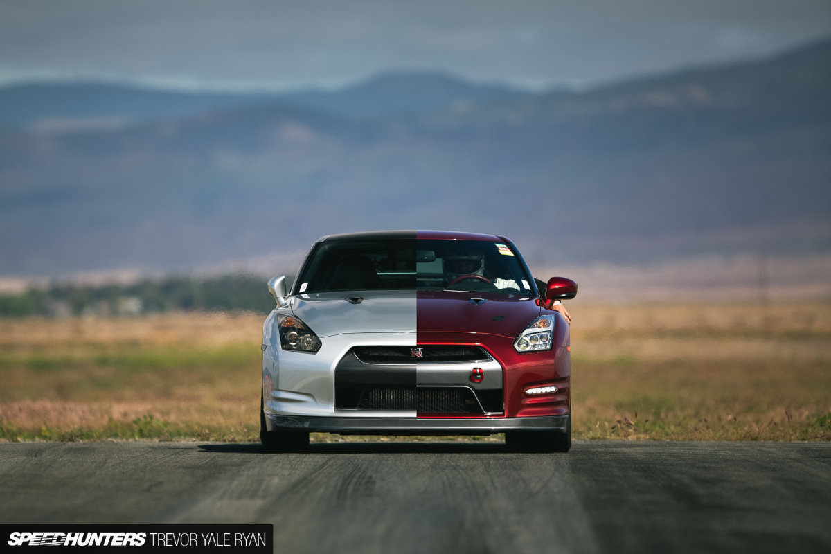 Two R35 GT-Rs Chase 200mph
