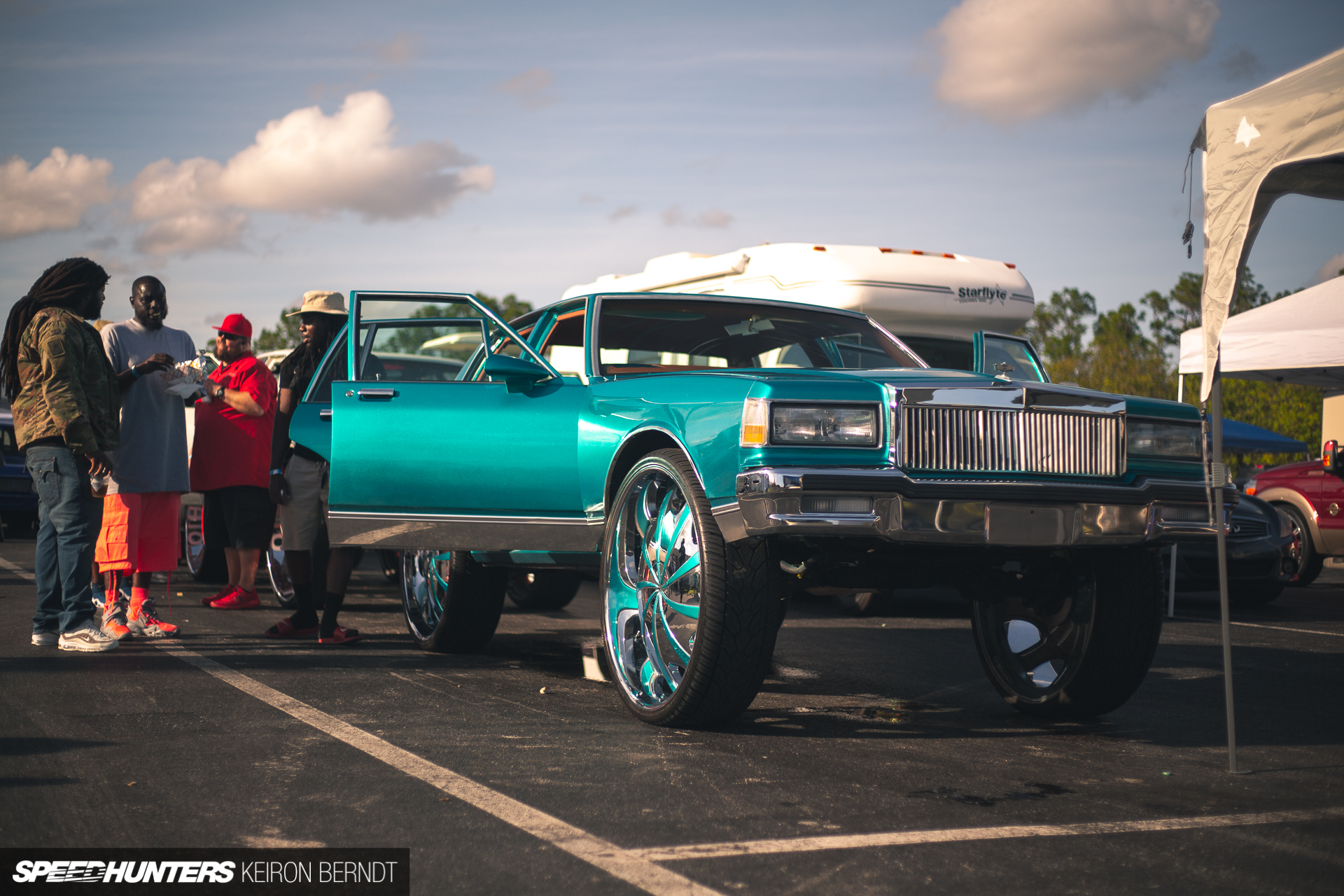 Getting A Taste Of The Donk Life World Blogs - Donk car show