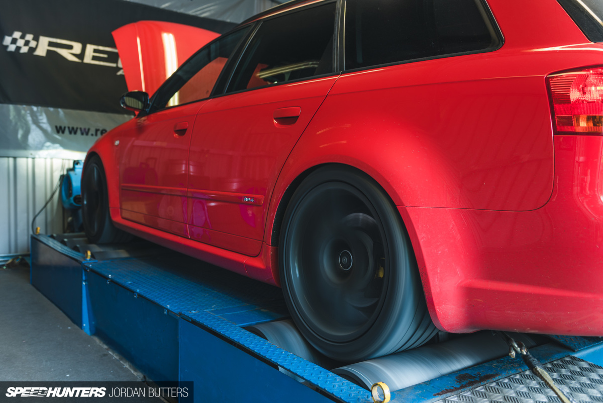 Dyno Time For Project RS4