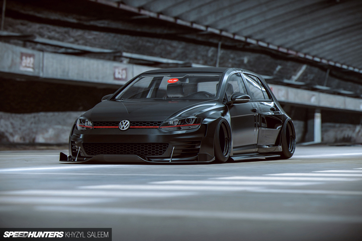 Drop It Like It's Hot: Air Lift Performance's Slam Series For Golf Mk7