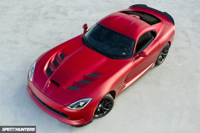 "2016 Dodge Viper GTC painted in ""1 of 1"" custom matte finish"