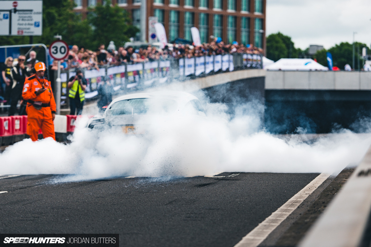 This Is What Over 750hp Does To YourTyres