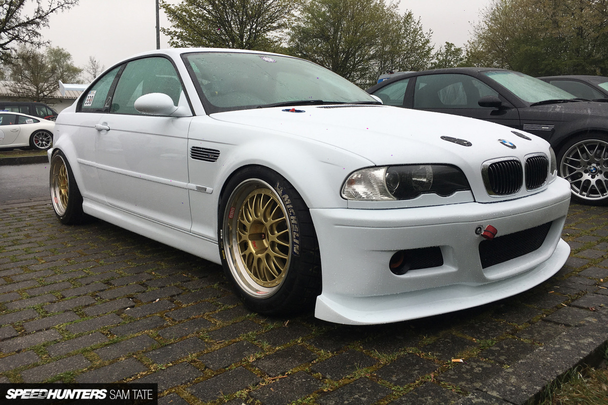 Watch This Road-Legal E46 M3 Attack The Nordschleife