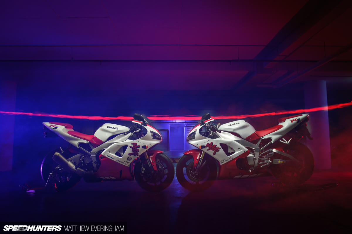 Back To The Future: Retroteching The Yamaha R1