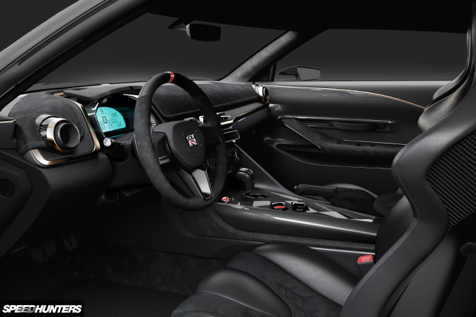 2018 06 25 Nissan GT-R50 by Italdesign INTERIOR IMAGE 1 SH