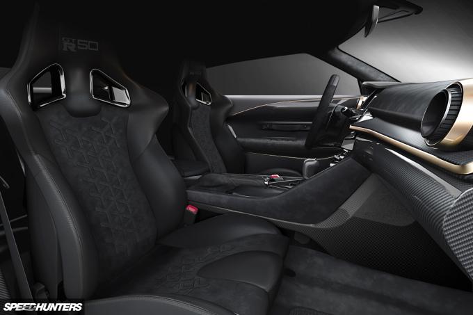2018 06 26 Nissan GT-R50 by Italdesign INTERIOR IMAGE 3 SH
