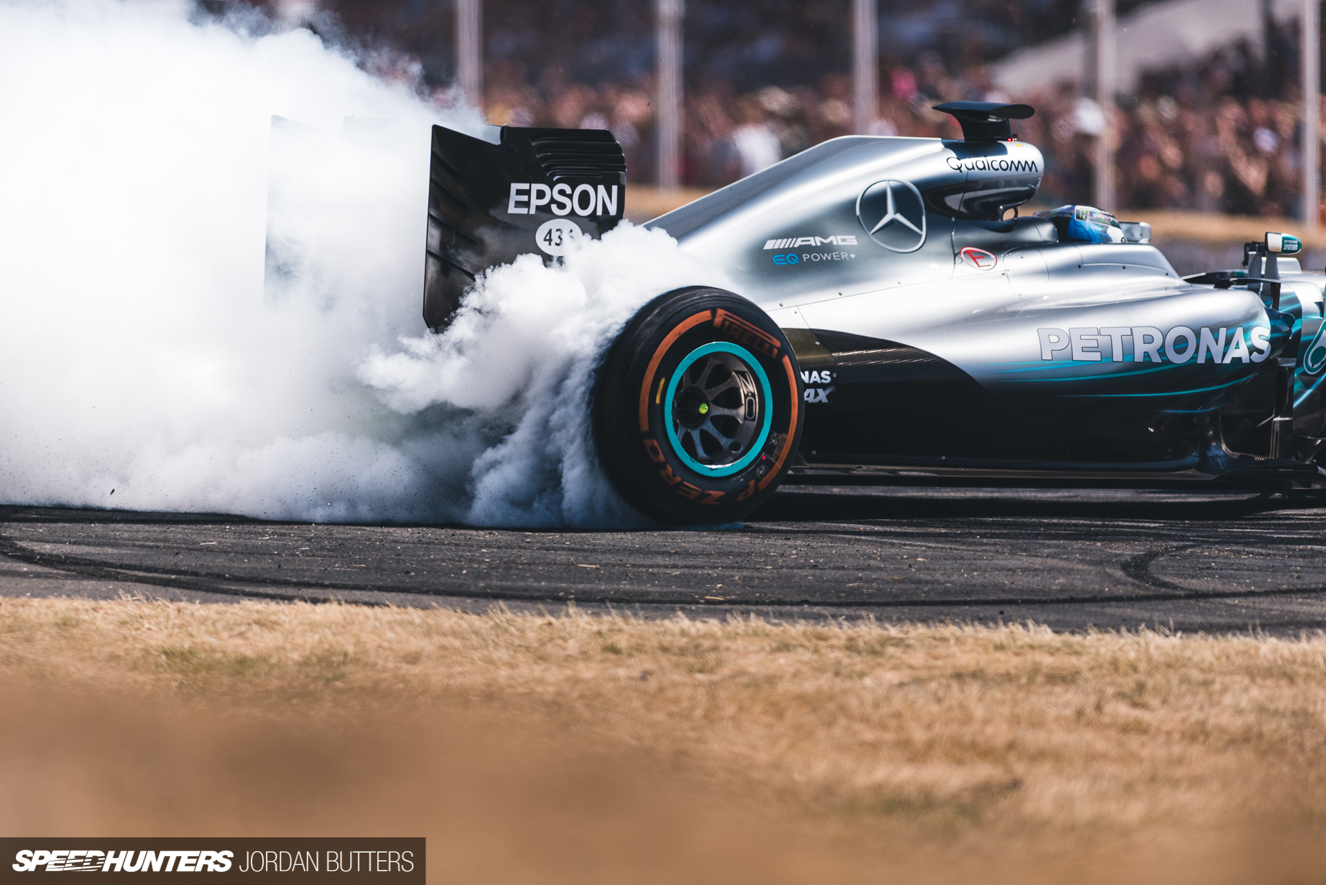 Burning Up At The Festival of Speed