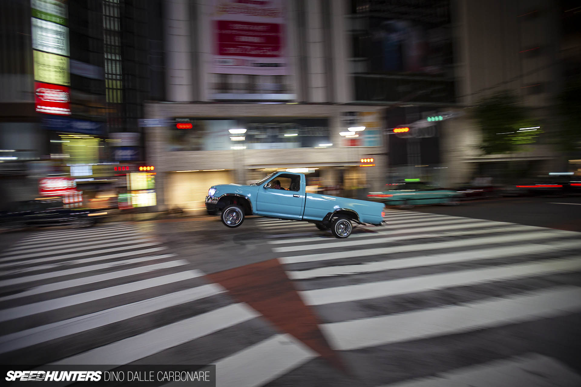 Lowriders Take Over Shibuya