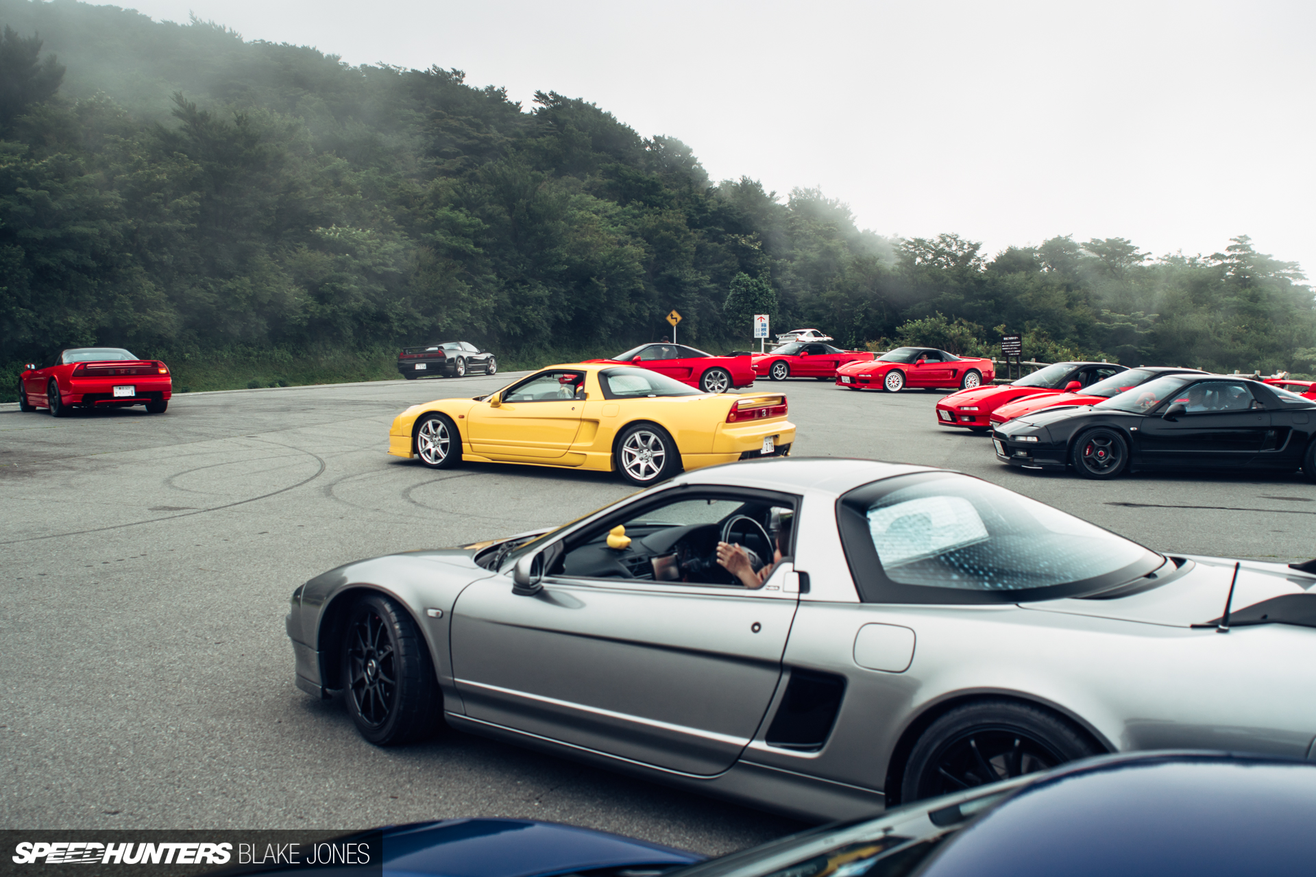 When NSXs Gather In The Shadow Of Mt. Fuji