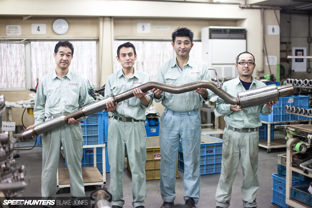 The Art Of Exhaust-Making At Fujitsubo