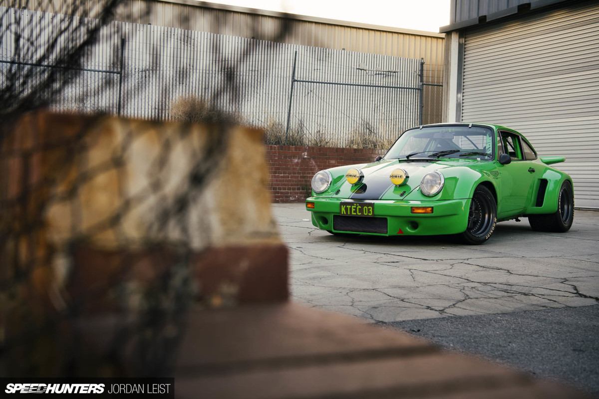 Going Full Circle In A Viper Green 911