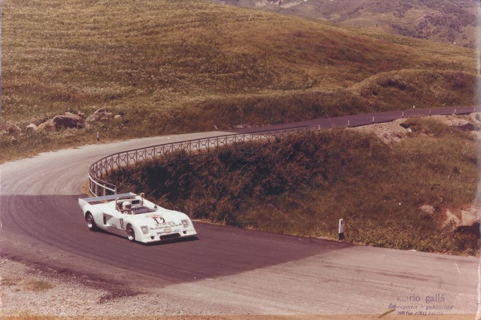 1977 Chevron B-36 original photos  at Targa Florio 1