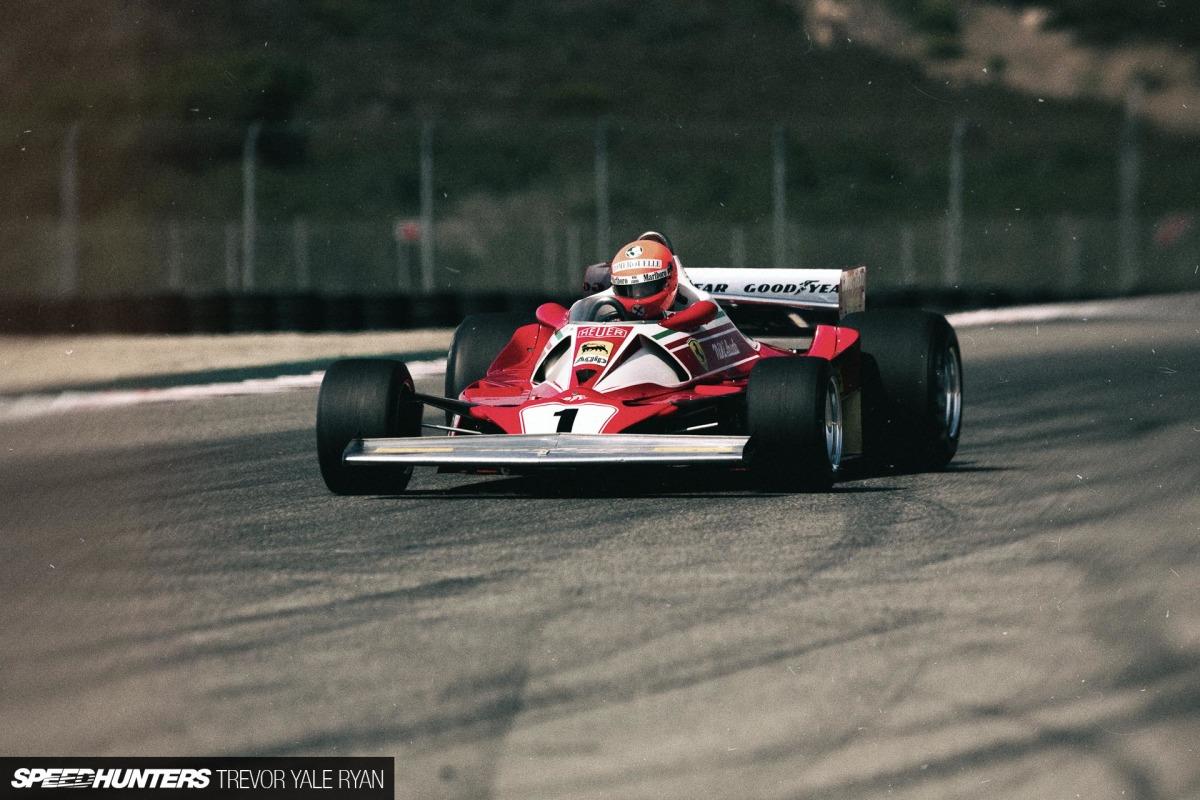 Experiencing Niki Lauda's Ferrari 312T2
