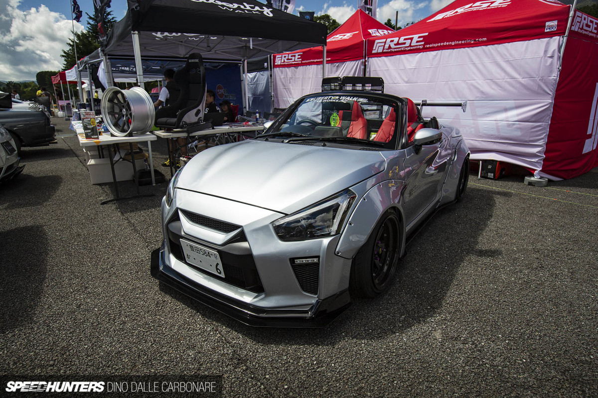 Liberty Walk's GT-R Inspired Kei Car
