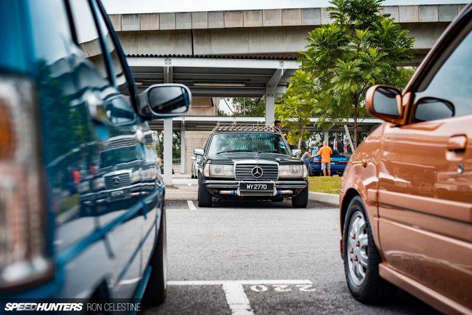 Ron_Celestine_Speedhunters_Retro_Havoc_Mercedes